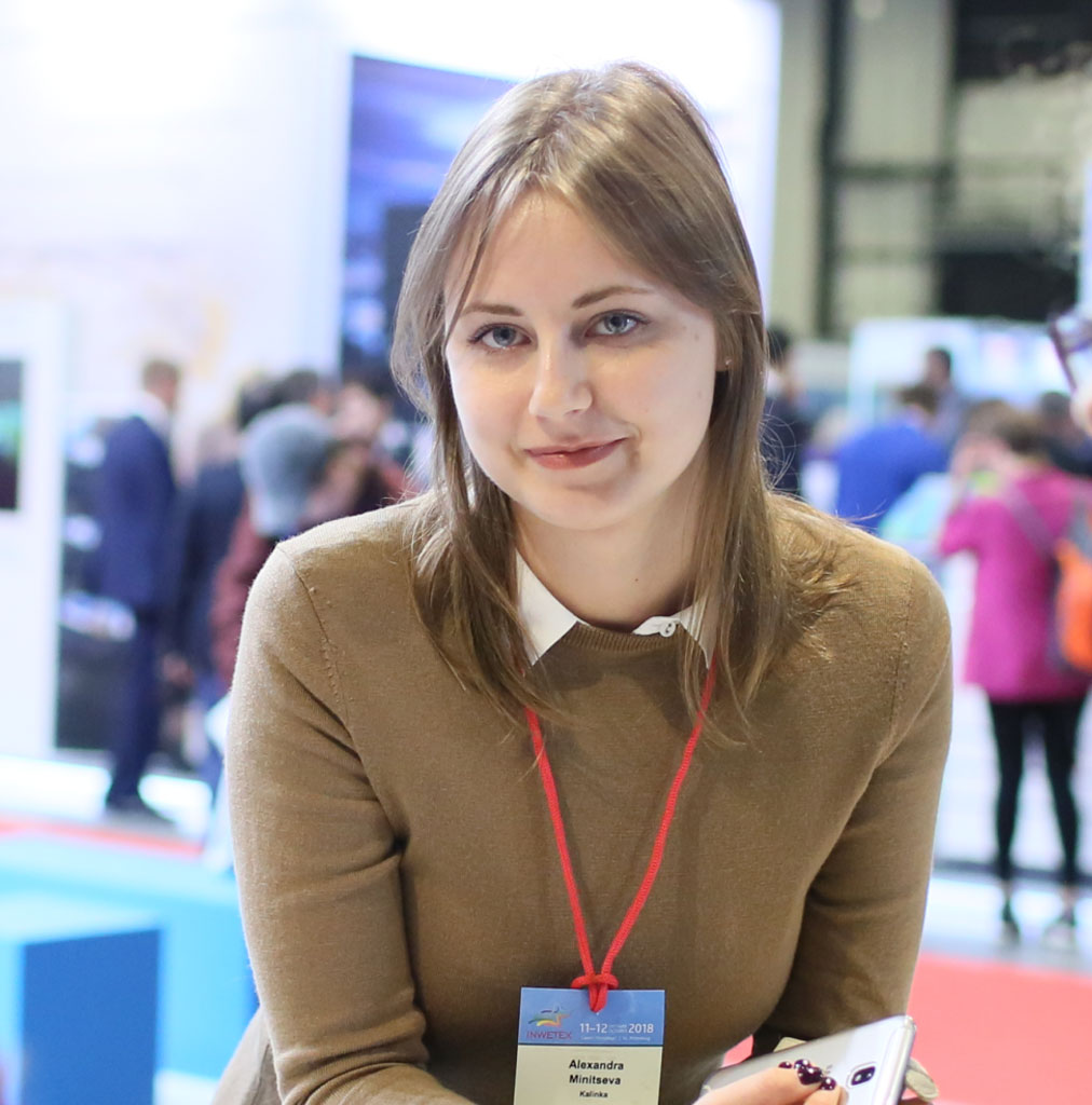 ALEXANDRA MINITSEVA KALINKA TRAVEL