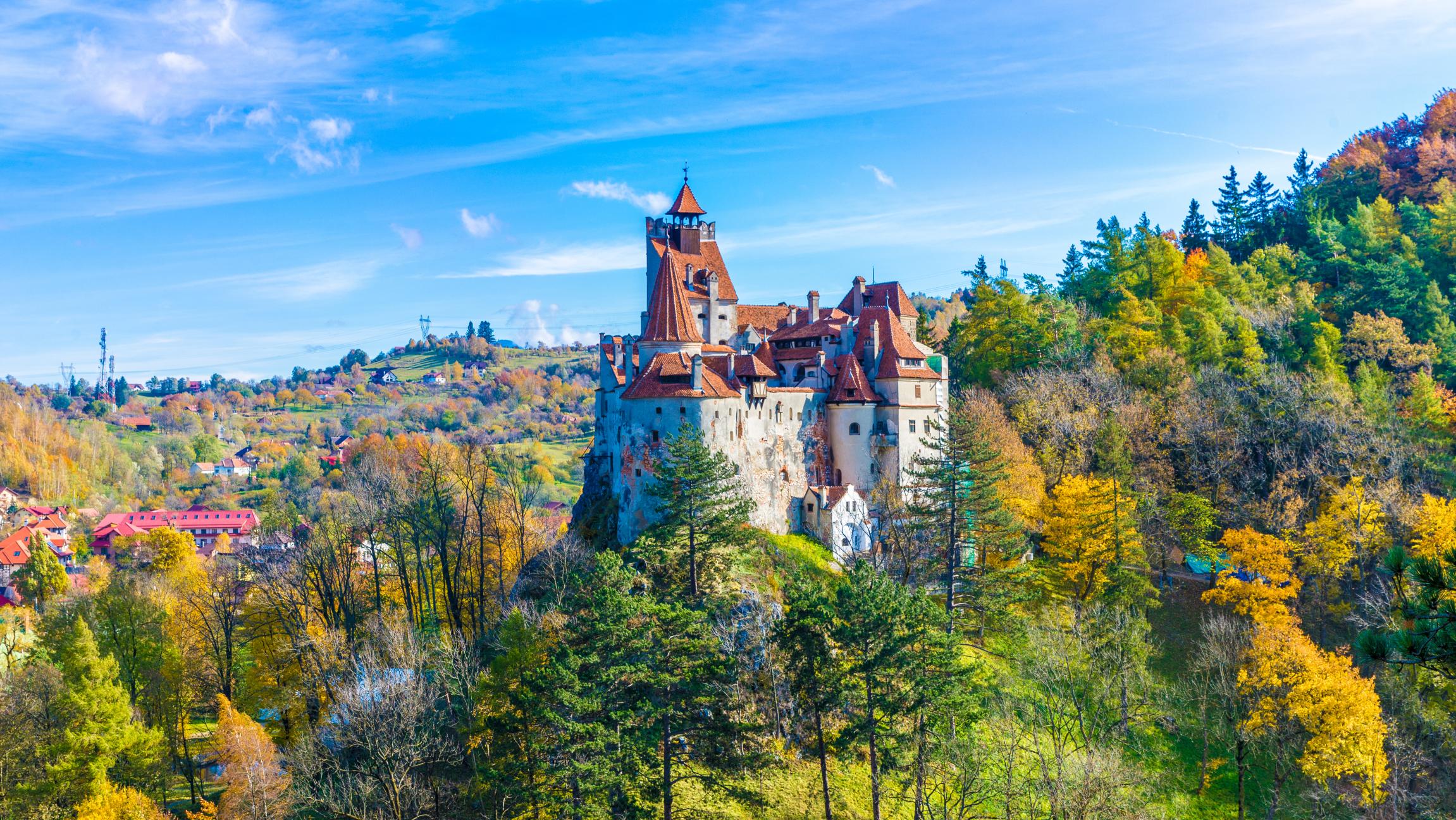 1. Замок Дракулы и замок Пелеш